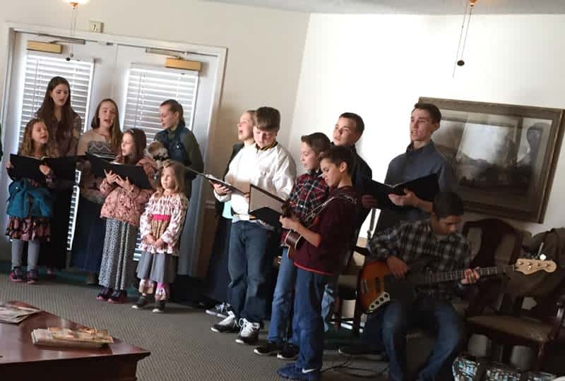 Homeschool Students Perform at Morning Pointe