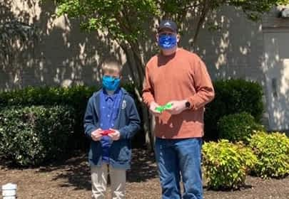 Local 10-Year-Old Uses 3-D Printer to Make Mask 'Ear Savers'