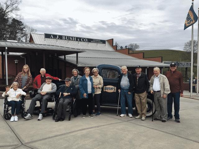 Morning Pointe Residents Tour Bush's Beans Museum