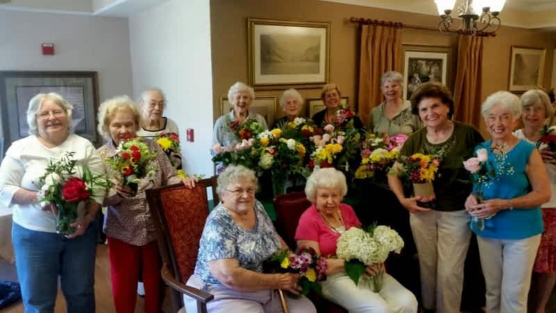 Capital City Garden Club Brings Blooms to Morning Pointe
