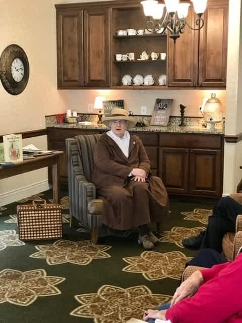 Beatrix Potter Visits Morning Pointe