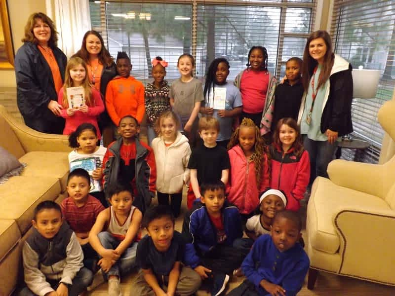 Crestmont Elementary Second Graders Visit Morning Pointe