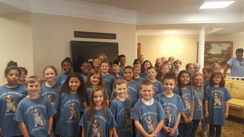Baker Elementary Choir Performs at Morning Pointe