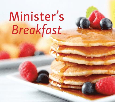 Minister's Breakfast