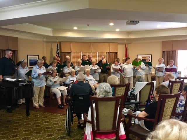 Musical Guests Make Memories at Morning Pointe