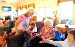 Morning Pointe Meets Celebrity Horse 'Miss Muffett'