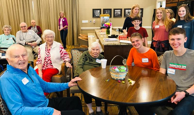 Cornerstone Church's Compassion Team Hosts Music Café at Morning Pointe