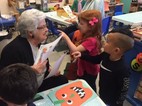 Morning Pointe Residents Visit YMCA Preschool Class