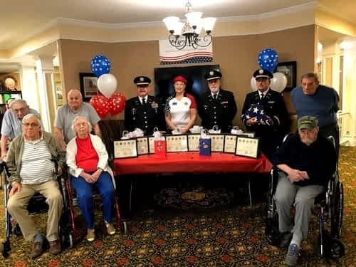 Morning Pointe, Local VFW Celebrates Veterans