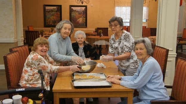 Morning Pointe Seniors Bake Cookies to Benefit Local Youth