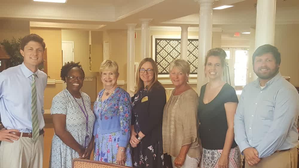 Maury County Elder Healthcare Taskforce Holds Alzheimer's Think Tank at Morning Pointe
