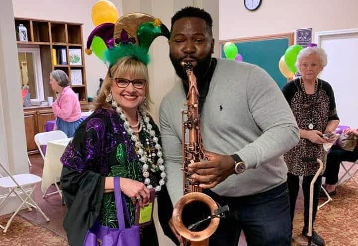 Morning Pointe Celebrates Mardi Gras