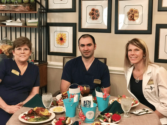 Morning Pointe Associates Celebrate Nurses Week