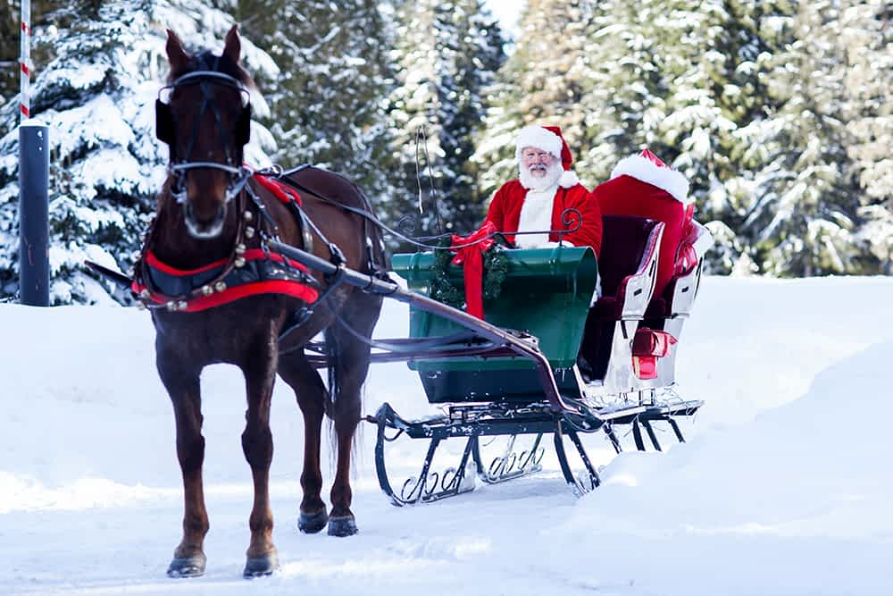 Carriage Ride with Santa