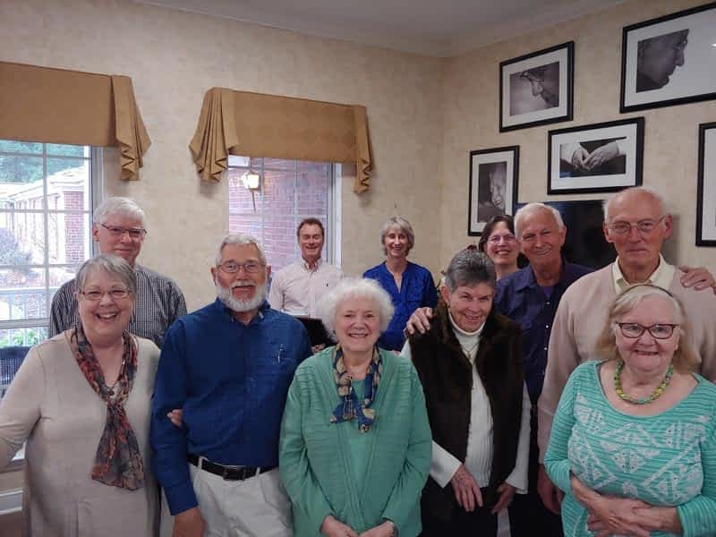 The Celebration Singers Serenade Morning Pointe Residents