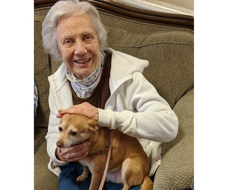 Morning Pointe Residents Find Comfort in Quality Time with Animals