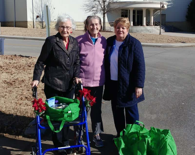 Morning Pointe Partners with Abba's House for Local Food Drive