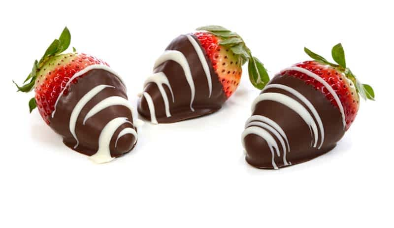 Don't Forget the Chocolate CoveredStrawberries