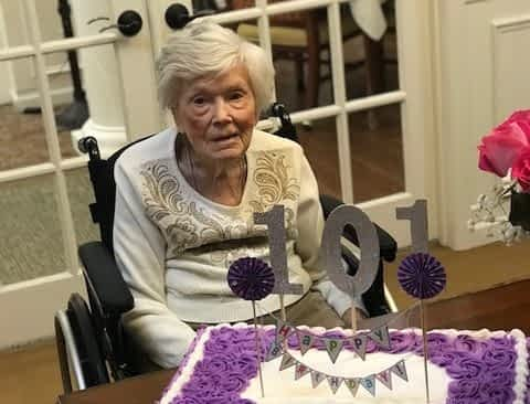 Morning Pointe Resident Celebrates 101 Years of Life