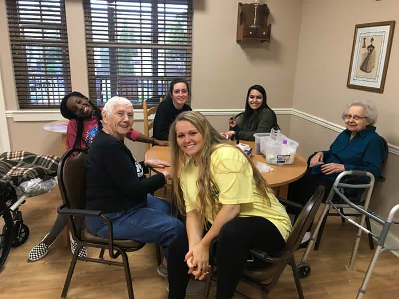 Lenoir City High School Students Get Hands-On Experience at Morning Pointe