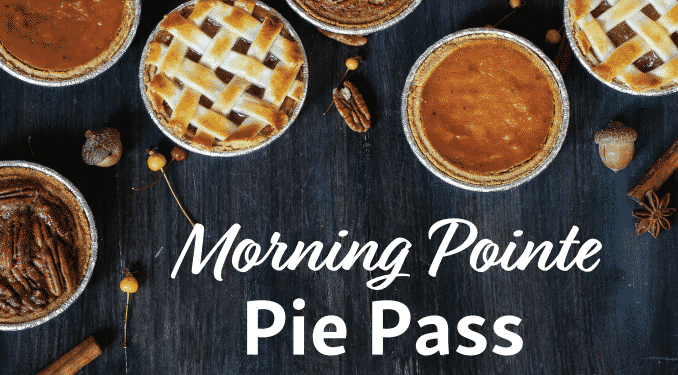 Morning Pointe Hosts Reid Hill Thanksgiving Pie Giveaway