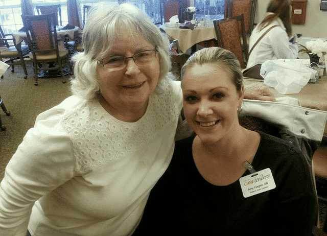 CareTenders Bring Sweet Treats to Morning Pointe Seniors