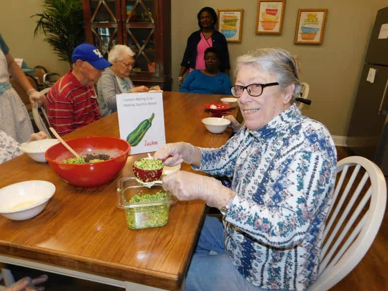 Morning Pointe Baking Club Engages Memory Care Residents
