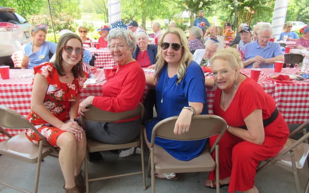 "Morning Pointe ""Red, White, and Bluegrass"" Event an Independence Day Hit"