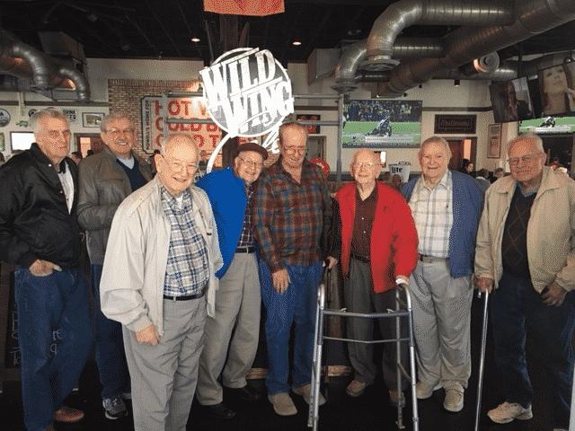 Morning Pointe Men's Club Visit Wild Wings Cafe