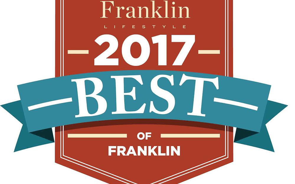 """Morning Pointe of Franklin Named """"2017 Best of Franklin"""""""