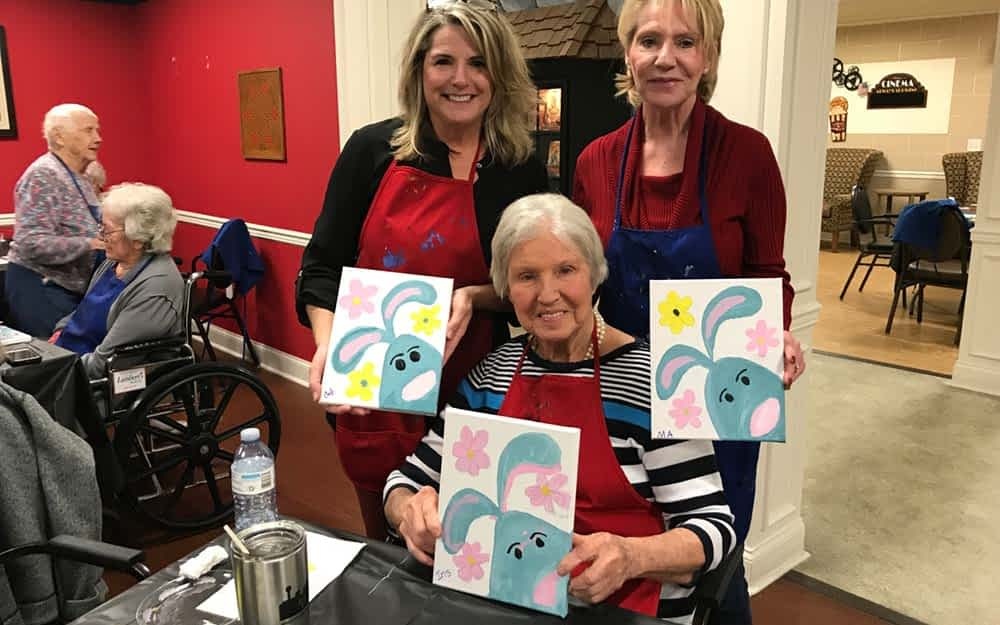 Morning Pointe Lantern Prepares for Annual Alzheimer's Art Auction