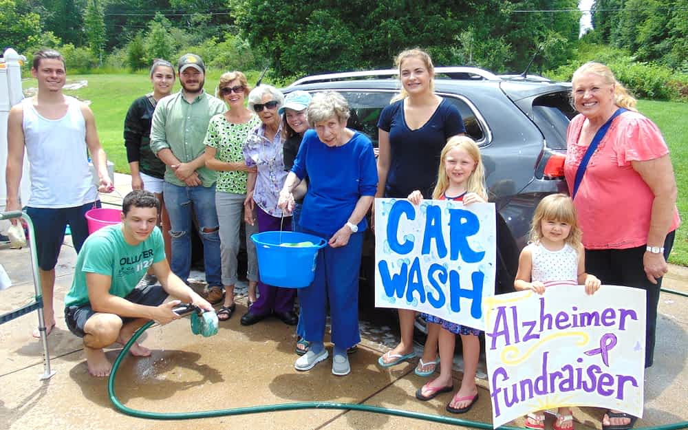 "Morning Pointe's ""Longest Day"" Car Wash Raises Cash for a Cause"