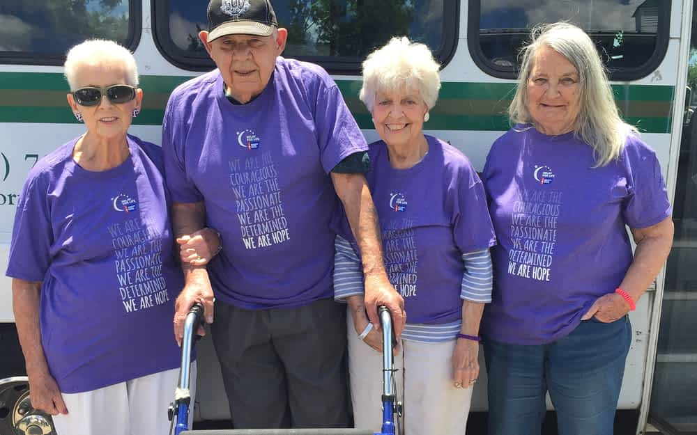 Morning Pointe Residents, Cancer Survivors Make Strides at Relay for Life