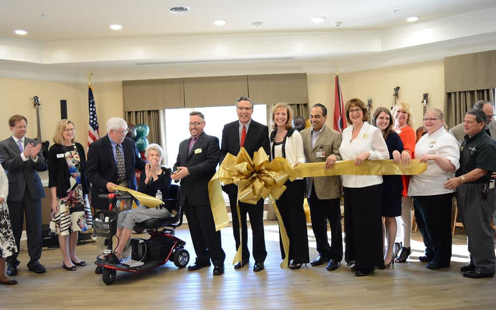 Morning Pointe of Franklin Opens Doors during Open House, Ribbon-Cutting Ceremony