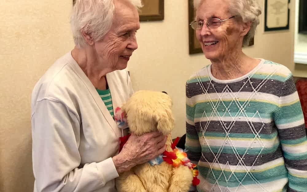 Morning Pointe Uses Pet Therapy to Improve Residents' Quality of Life