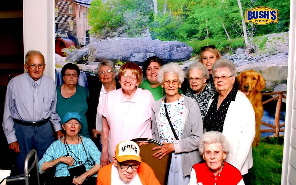 Morning Pointe Seniors Visit Bush's Beans Museum