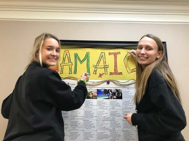 Assumption High School Partnership Brings Volunteers to Morning Pointe