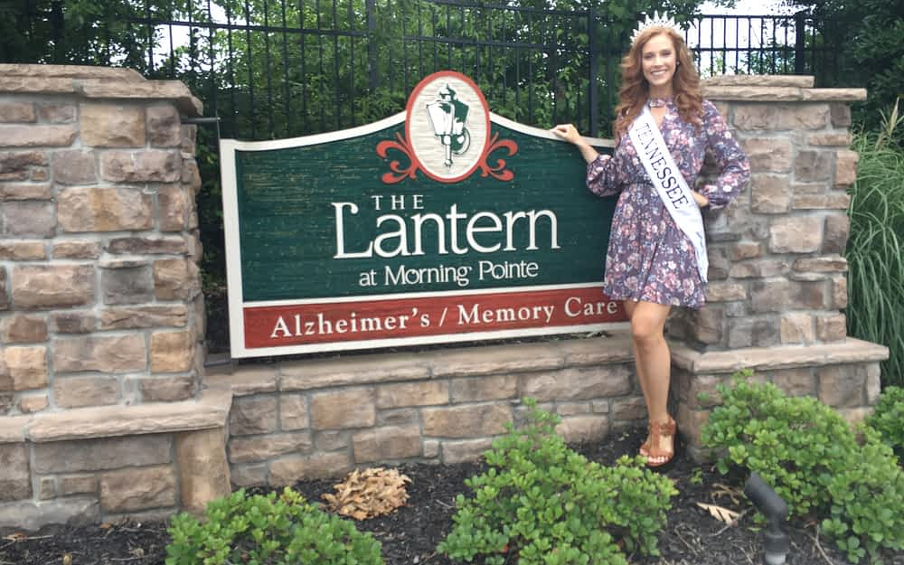 Miss Tennessee United States Visits Morning Pointe