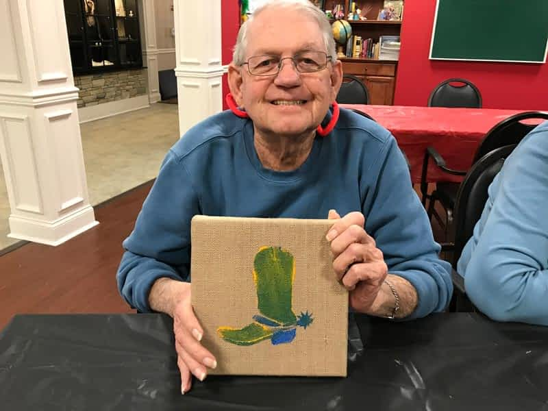 Morning Pointe Lantern Hosts Third Art for Alzheimer's Auction