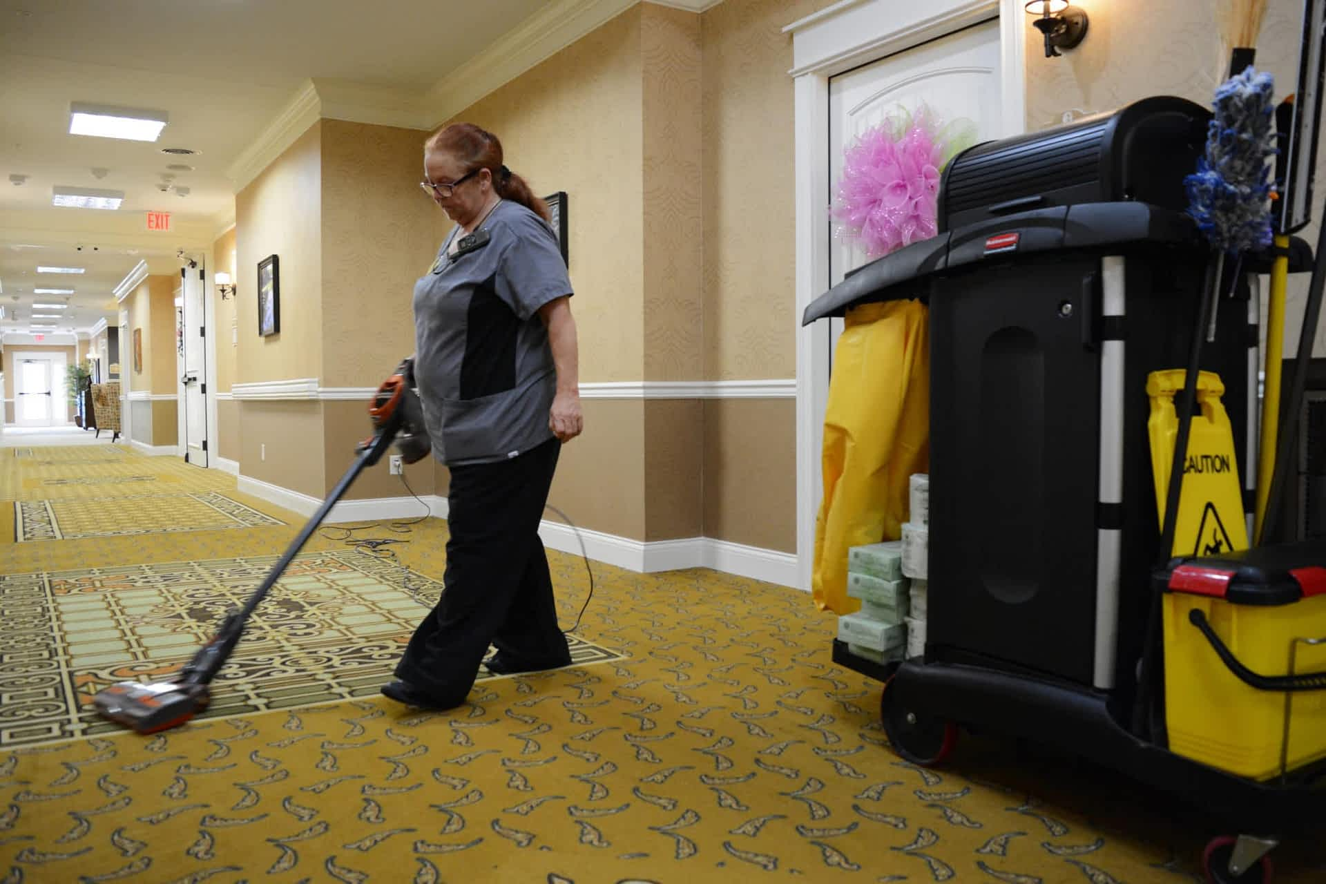 Housekeeper at Morning Pointe