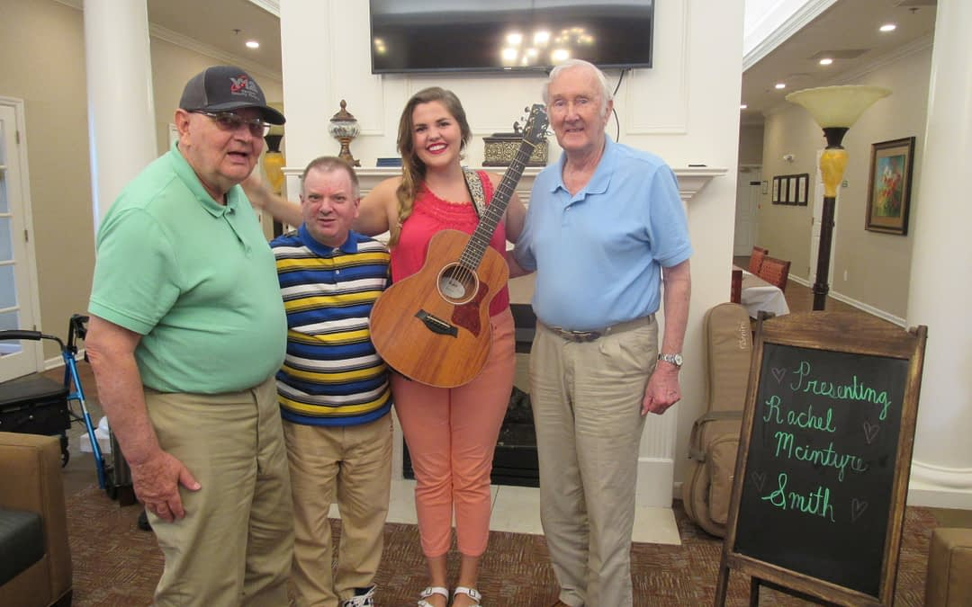 Knoxville Idol Winner Performs at Morning Pointe