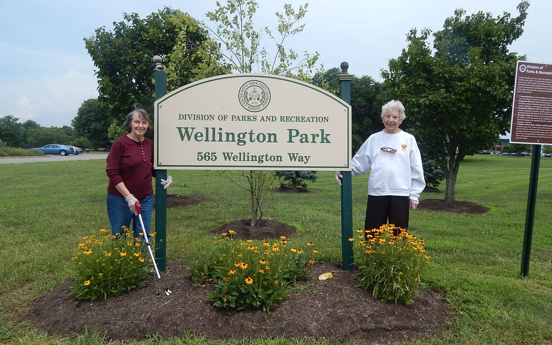 Morning Pointe Residents Adopt Wellington Park