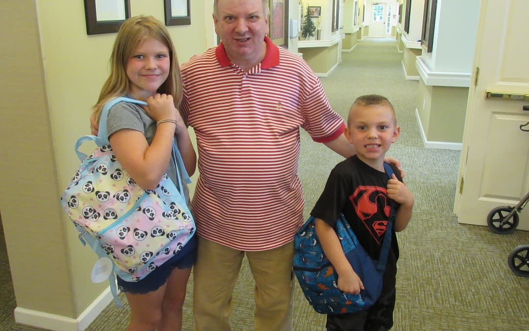 Morning Pointe Residents Give Back to Local Students