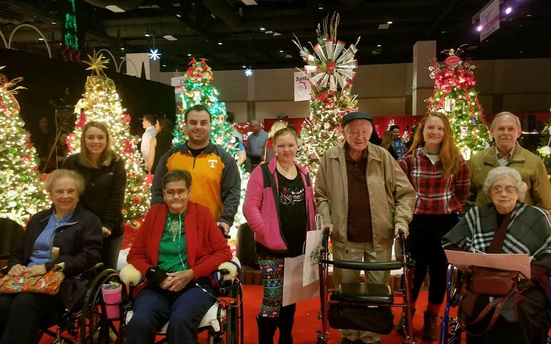 Morning Pointe Residents Celebrate the Season at the Fantasy of Trees
