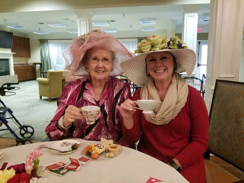 Morning Pointe Celebrates National Hot Tea Month