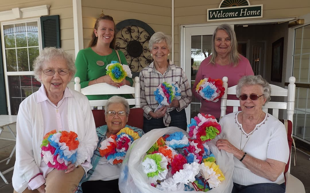 Morning Pointe Seniors, Indian Creek Students Partner for Day of Caring