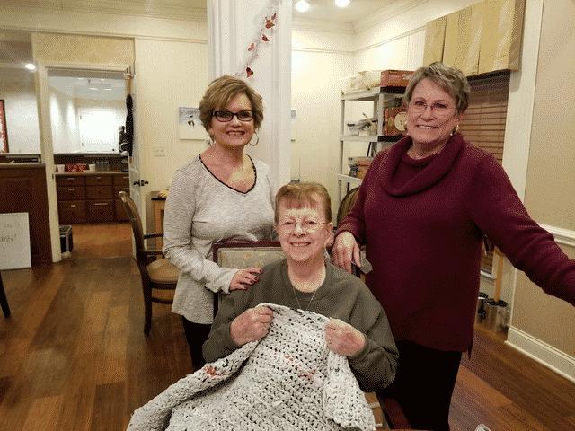 Morning Pointe, Highland Park Baptist Create Compassionate Crafts