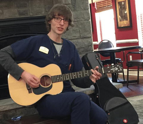 Morning Pointe Associate Pulls Heartstrings with Music