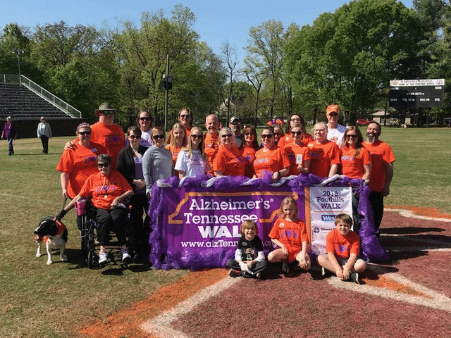 Morning Pointe Makes Strides at Alzheimer's Tennessee Walk