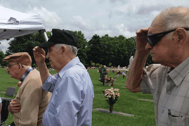 Morning Pointe Veterans Pay Tribute on Memorial Day